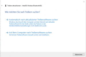 Windows Treiber manuell aktualisieren